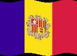 Drapeaux Drapeau principauté d'Andorre