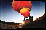 Toiles imprimées Envol de montgolfière en Auvergne - Super Besse