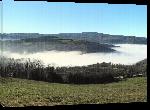 Toiles imprimées Photo Mer de nuage en Montagne Noire - Montagne Noire
