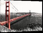 Toiles imprimées Poster de San Francisco