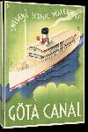 Toiles imprimées Affiche ancienne Sweden's Scenic Waterway Göta Canal