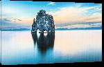 Toiles imprimées Affiche paysage de l'Islande