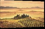 Toiles imprimées Affiche de la Toscane en Italie