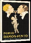 Toiles imprimées Affiche publicité vintage Porto Ramos Pinto by Rene Vincent