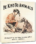 Toiles imprimées Affiche publicité vintage Be Kind to Animals