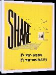 Toiles imprimées Affiche publicité vintage guerre Share Sugar, It's War