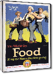Toiles imprimées Affiche publicité vintage guerre The World Cry - Food: Keep the Home Garden Going