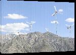 Toiles imprimées Photo éolienne montagne d'Afghanistan