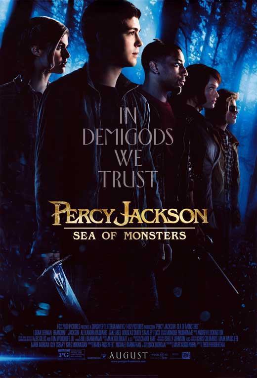 affiche du film percy jackson la mer des monstres acheter affiche du film percy jackson la. Black Bedroom Furniture Sets. Home Design Ideas