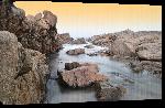 Toiles imprimées Photo côte en Afrique du Sud