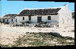 Toiles imprimées Photo maison côte d'Afrique du Sud