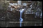 Toiles imprimées Photo paysage cascade Afrique du Sud