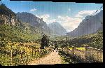 Toiles imprimées Photo paysage d'Albanie montagne