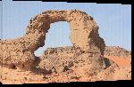 Toiles imprimées Photo paysage rocher désert du Sahara en Algérie