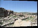Toiles imprimées Photo ruine dans le désert d'Algérie