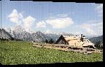 Toiles imprimées Photo refuge montagne Alpes en Haute autriche
