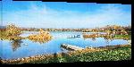 Toiles imprimées Photo lac Feldkirchen en Autriche