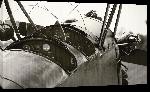 Toiles imprimées Photo noir et blanc vieil avion