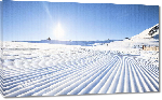Toiles imprimées Photo piste ski Andorre