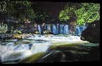 Toiles imprimées Photo cascade rivière en Argentine