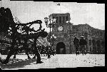 Toiles imprimées Photo noir et blanc place Arménie