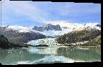Toiles imprimées Photo reflet d'un glacier en Patagonie Argentine