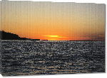Toiles imprimées Photo coucher de soleil en Argentine
