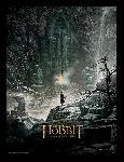 Affiche pre-encadree du film Le Hobbit : la Désolation de Smaug