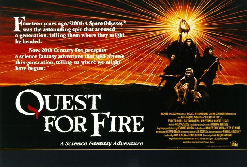 affiche du film la guerre du feu acheter affiche du film la guerre du feu 6001 affiches et. Black Bedroom Furniture Sets. Home Design Ideas