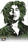 Poster BOB MARLEY leaves