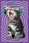 Affiche Kitten Headphones