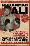 Affiche vintage de Mohamed Ali
