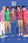 Affiche One Direction (Blue)