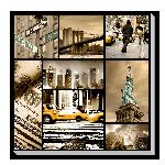 Toile mosaïque de New York