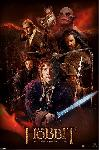 Poster du film The Hobbit Dos (Fire Montage)