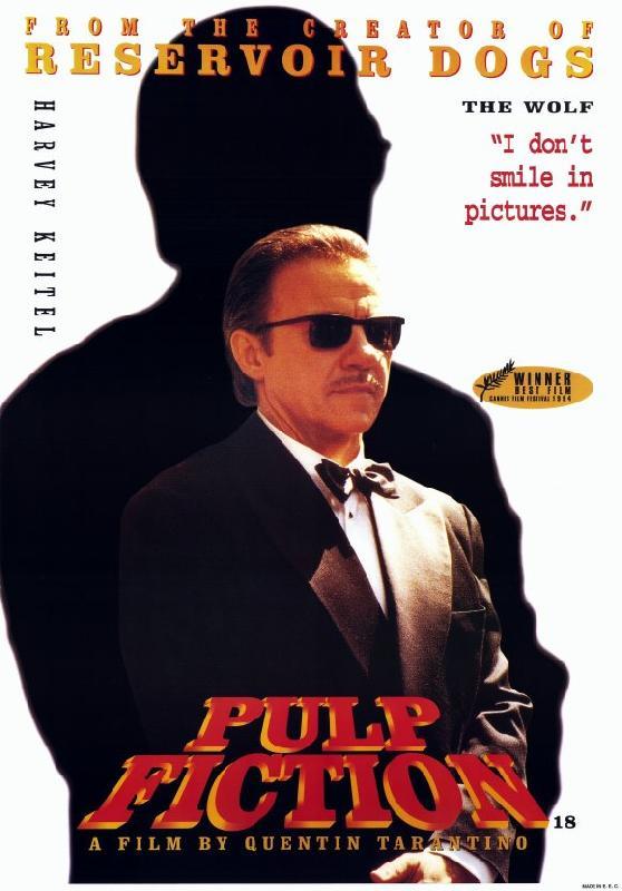 affiche du film pulp fiction acheter affiche du film pulp fiction 6330 affiches et. Black Bedroom Furniture Sets. Home Design Ideas