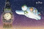 Poster du film animation Le bonhomme de neige et le petit chien