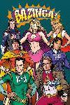 Poster The Big Bang Theory (Superheroes)