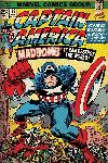 Poster Captain america retro Marvel