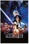 Affiche du film Star Wars le retour du Jedi