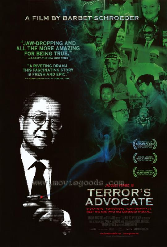 affiche du film l 39 avocat de la terreur acheter affiche du film l 39 avocat de la terreur 6514. Black Bedroom Furniture Sets. Home Design Ideas