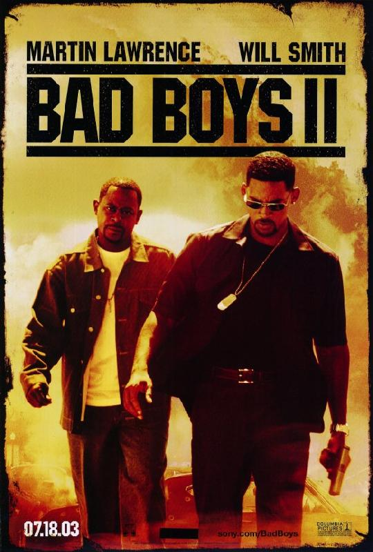 affiche du film bad boys ii acheter affiche du film bad boys ii 6515 affiches et. Black Bedroom Furniture Sets. Home Design Ideas