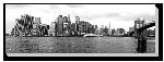 Tableau imprimée sur toile Design Manhattan