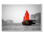 Tableau imprimée sur toile Photo Mer Asiatique