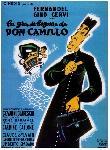 Afiche du film La Grande bagarre de Don Camillo
