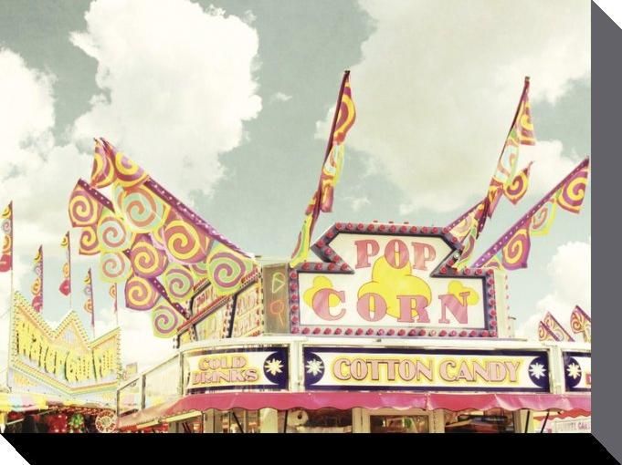 affiches posters toile de zee longenecker pop corn stand. Black Bedroom Furniture Sets. Home Design Ideas