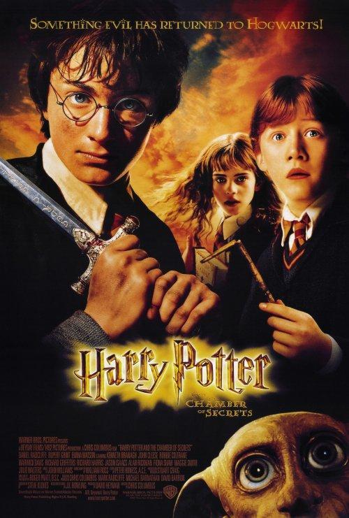 Affiche du film harry potter et la chambre des secrets - Harry potter et la chambre des secrets streaming ...