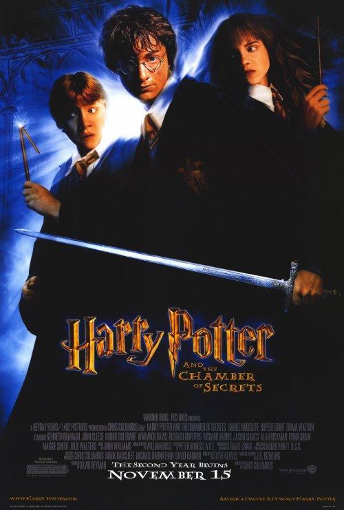 Affiche du film harry potter et la chambre des secrets - Fiche de lecture harry potter et la chambre des secrets ...