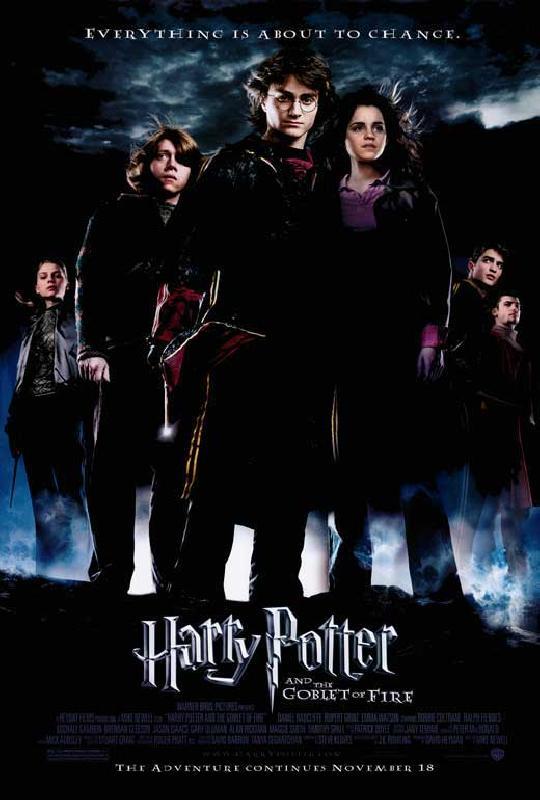 Affiche du film harry potter et la coupe de feu acheter - Harry potter et la coupe du feu ...