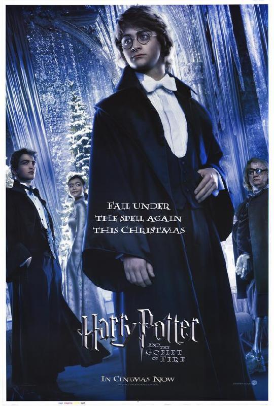 Affiche du film harry potter et la coupe de feu acheter - Film harry potter et la coupe de feu ...